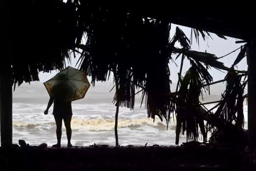 Cristobal forms in Gulf of Mexico as season's third tropical storm