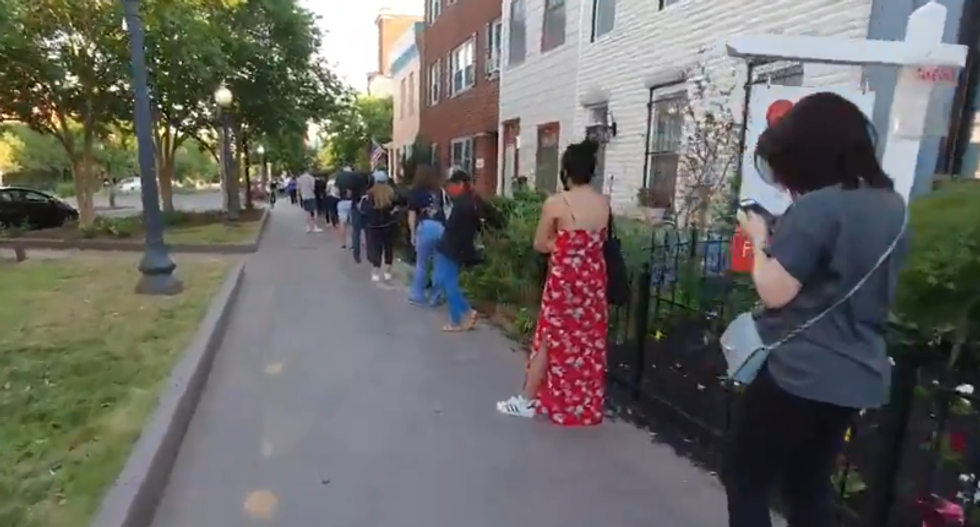 DC police demand people standing in line to vote go home — even though they're exempt from curfew: report