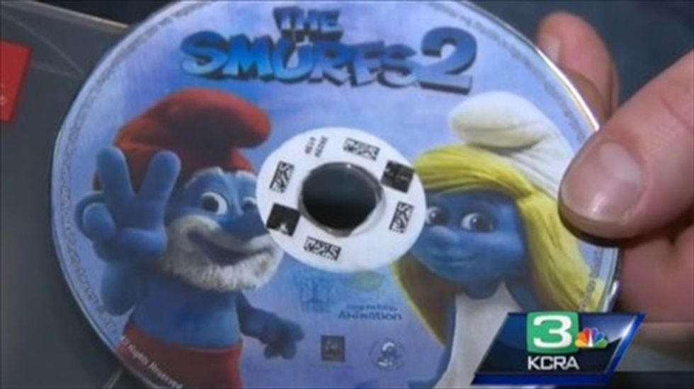 California man rents 'Smurfs' movie, gets porn instead