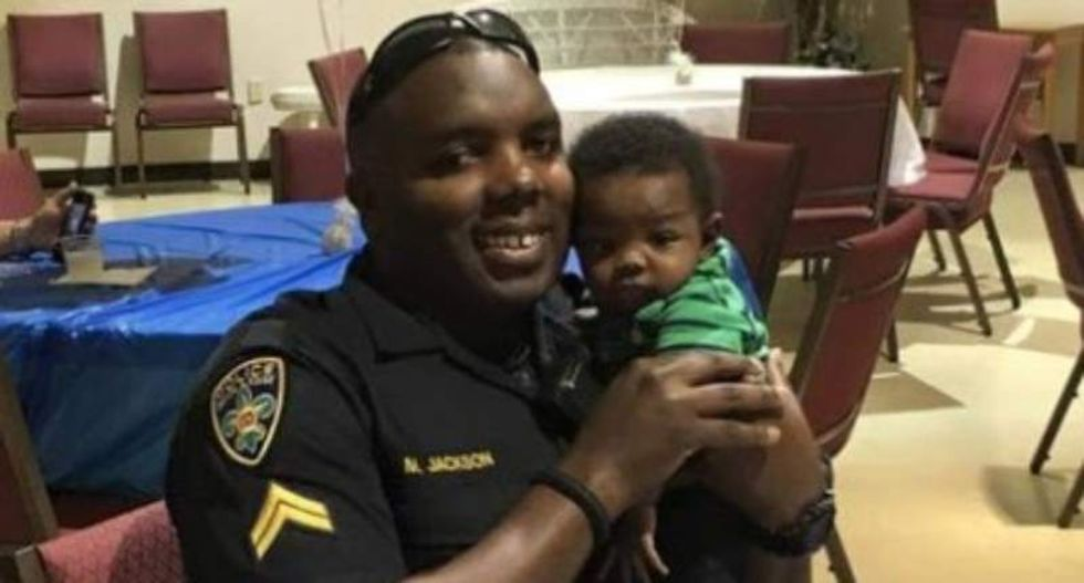Baton Rouge officer wondered 'if this city loves me' after Dallas shooting attack