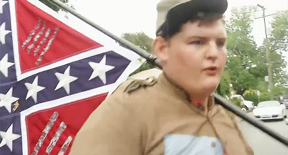 Confederacy-loving student shown in viral flip-off photo kicked out of Christian college