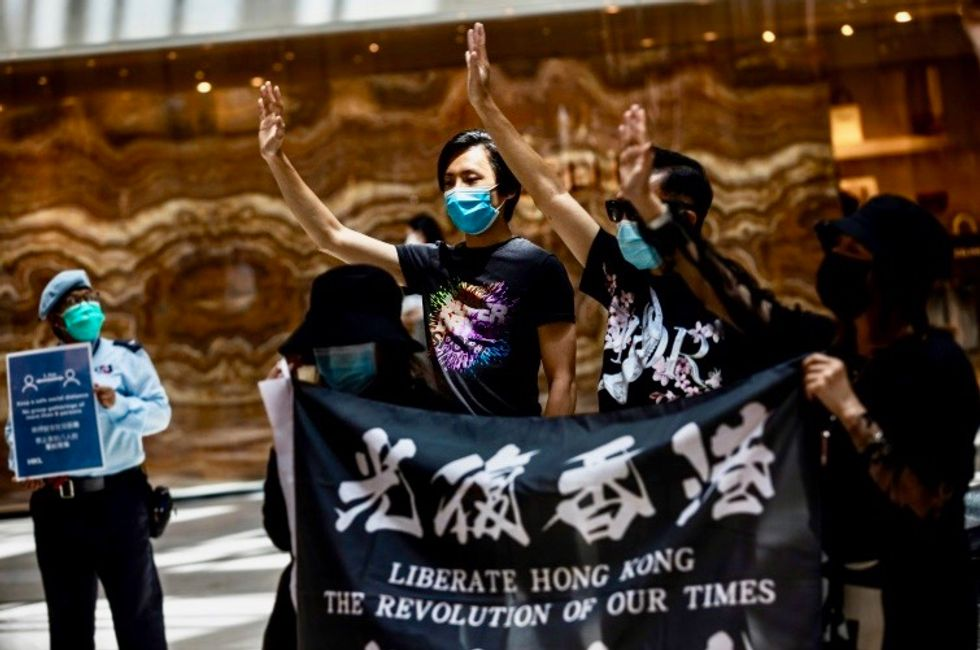 UK talks to 'Five Eyes' allies about potential Hong Kong exodus