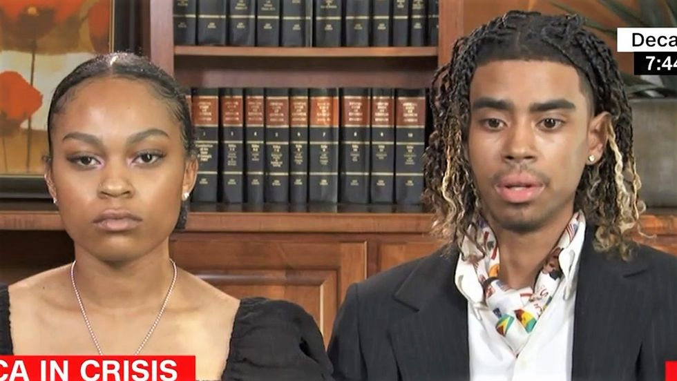 Black students brutalized by Atlanta cops call for 'total reset in policing' on CNN
