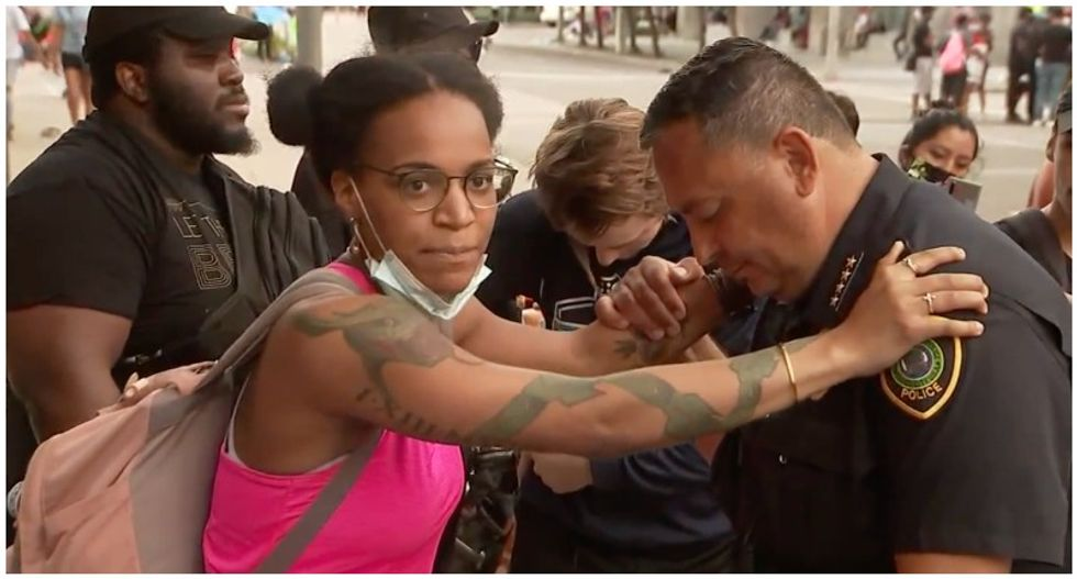 WATCH: Here are some unifying moments during the George Floyd protests that were overlooked