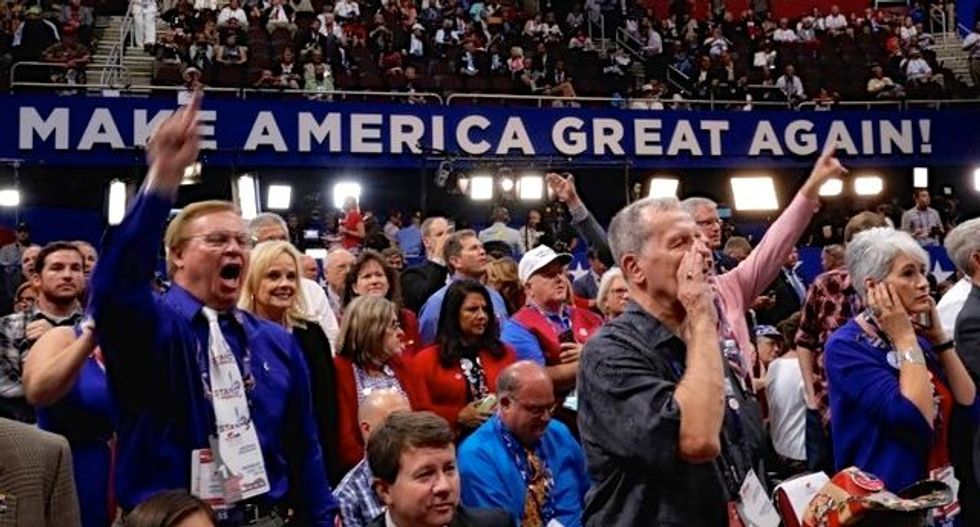 Republican ex-Congressman calls for aggressive Trump primary challenge -- from the right