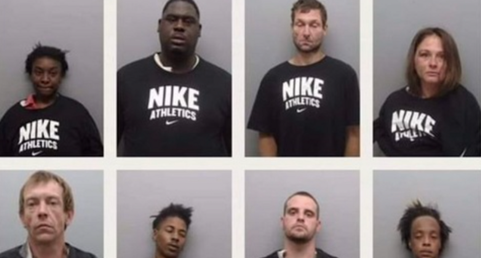 Arkansas sheriff's office forcing inmates to wear Nike shirts in mugshots to mock Colin Kaepernick: activist