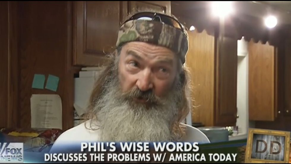 Duck Dynasty's Phil Robertson: I'm just 'trying to help those poor' gays 'and turn them to Jesus'