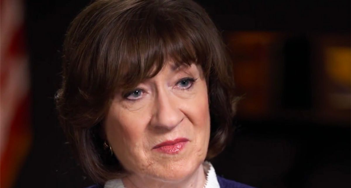 Susan Collins throws herself a pity party — here's why she's really upset