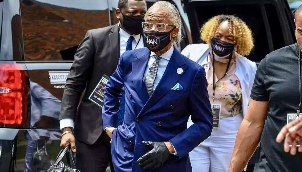 Black rights firebrand Al Sharpton is still fighting against injustice