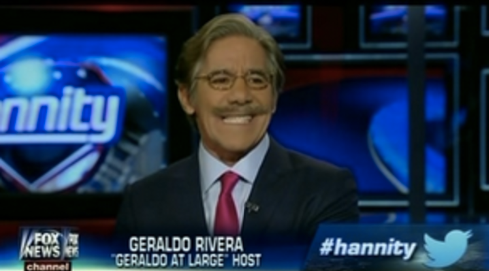 Geraldo Rivera to Trump advisor: 'I'm going to kick your racist ass, punk'