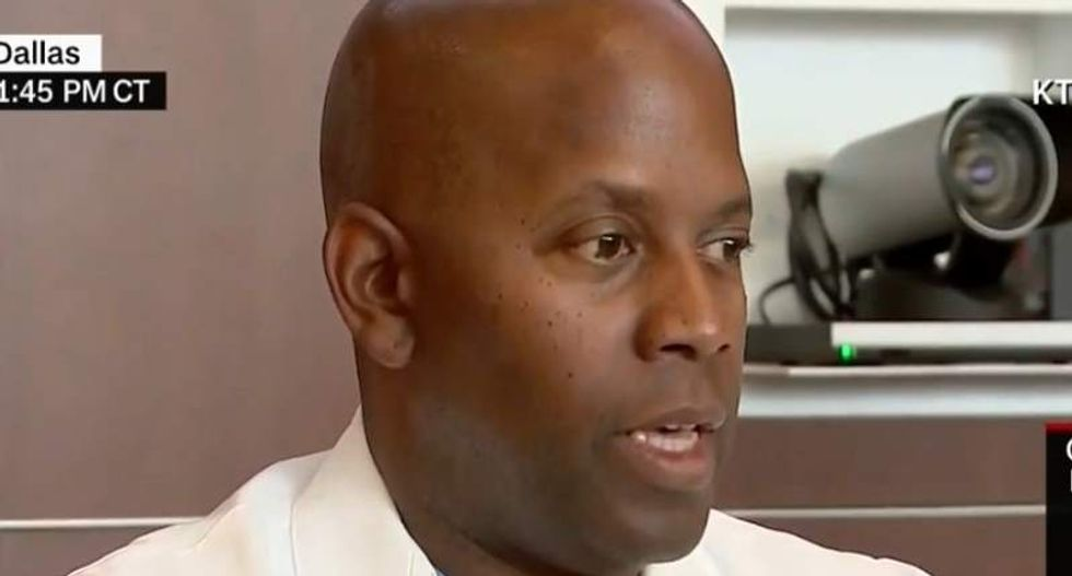 Black Dallas surgeon tells police: I support you -- that doesn't mean I don't fear you
