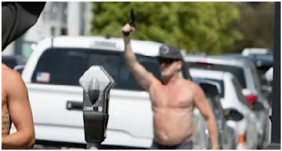 'Black lives don't matter': Panic in Newport Beach after man pulls gun on protesters