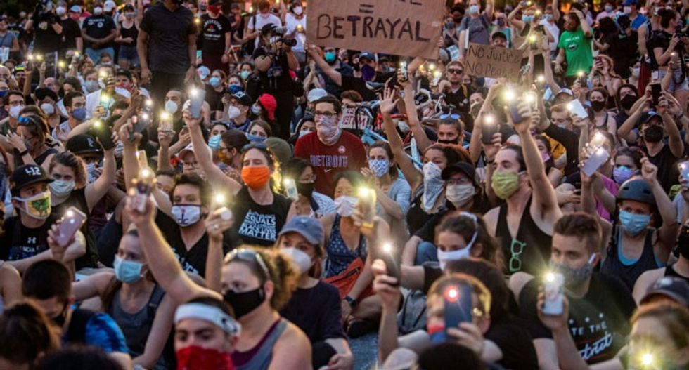 Authorities seize thousands of dollars worth of masks intended to shield protesters from COVID-19: report