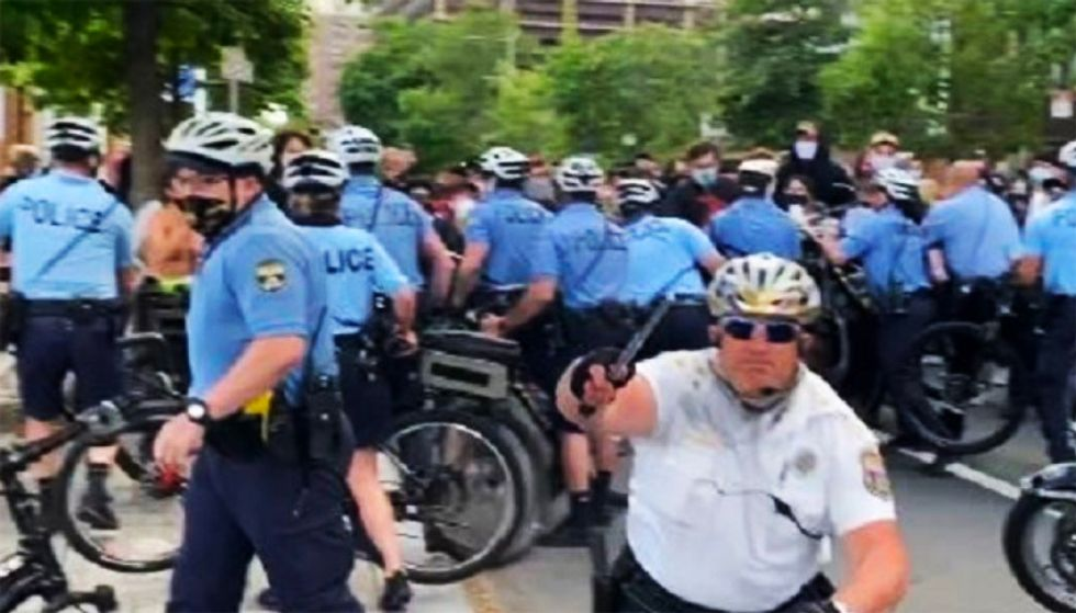 Philly police threaten to call in sick during protests after officer charged with assault: report
