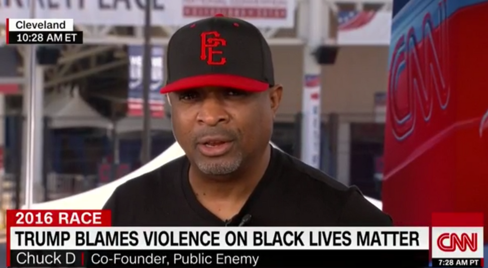 Rap legend Chuck D unloads on Trump: 'He's stupid and this convention is stupid for having him'