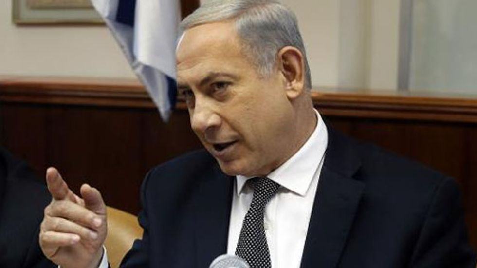 Netanyahu says criticism of Israel is 'against American values' and brags about manipulating America