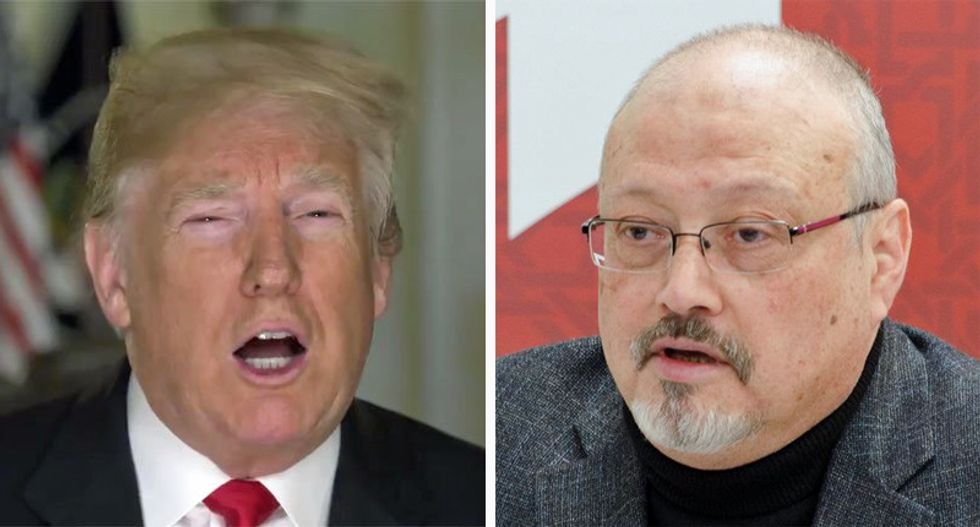 CNN reporter stunned that Trump didn't even read Khashoggi report before excusing Saudi prince's role in his murder