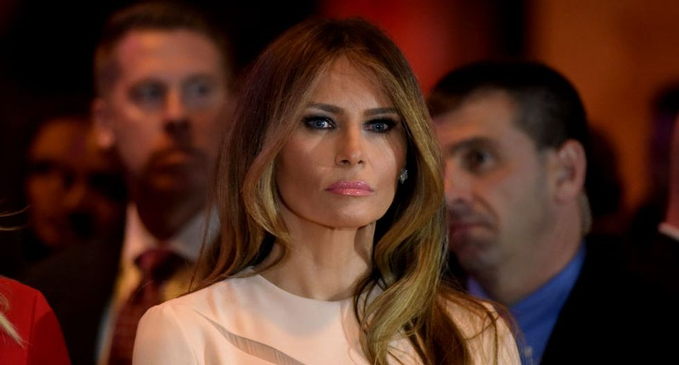 It's not just Melania Trump who plagiarizes her speeches