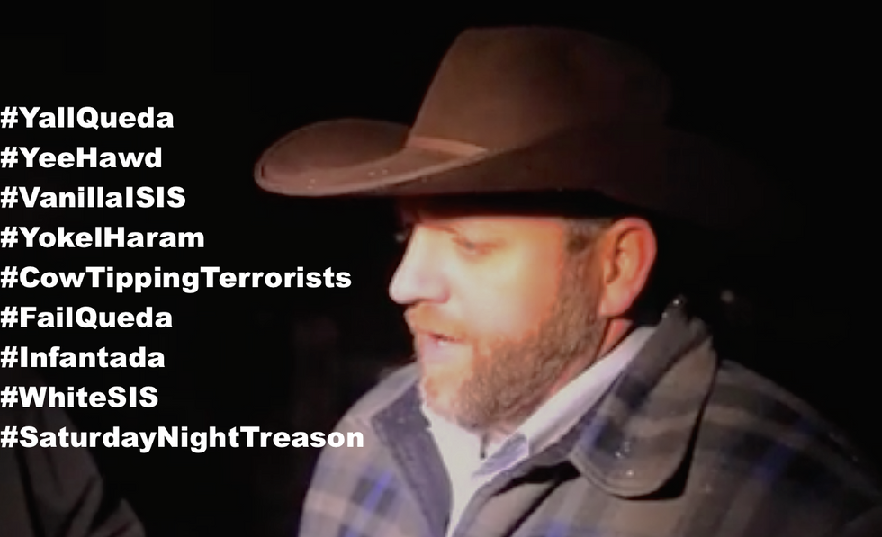 'Y'all Qaeda': Twitter users mock Oregon right-wing militia action -- and it's awesome