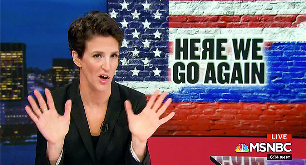 MSNBC's Rachel Maddow details shocking evidence that shows Russia and Trump are still working together
