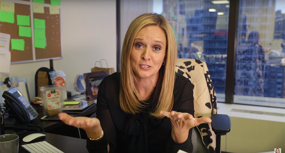 'Wait, we have to do this ALL month?': Sam Bee 'leaks' Trump's exhausting Black History Month schedule