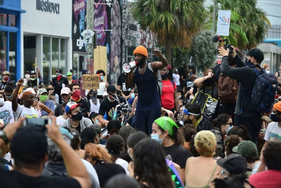 White House claims violence incited at George Floyd protests in Miami linked to Venezuela's Maduro