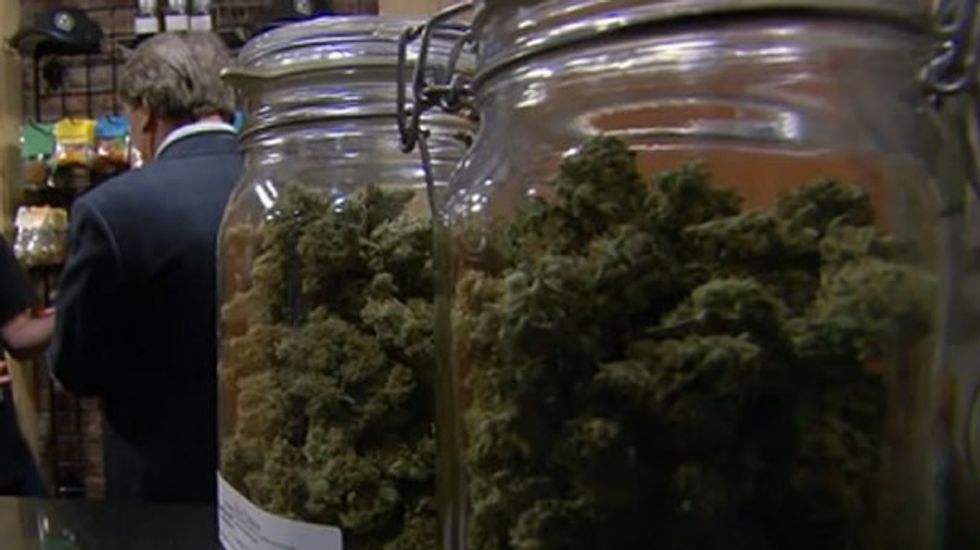 DC pot users face hazy legal situation when review period for pot sale expires Wednesday