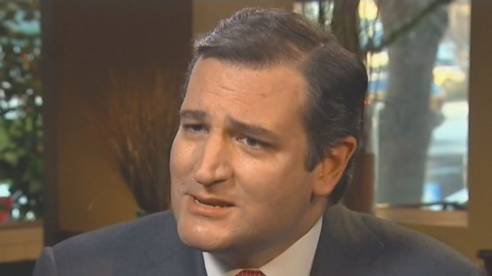 Ted Cruz goes off the rails: 'ISIS is executing homosexuals — you want to talk about gay rights?'