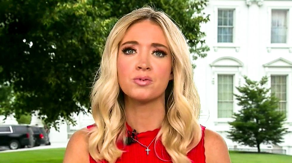 Kayleigh McEnany's claims about Trump ballots dumped in a ditch fall apart