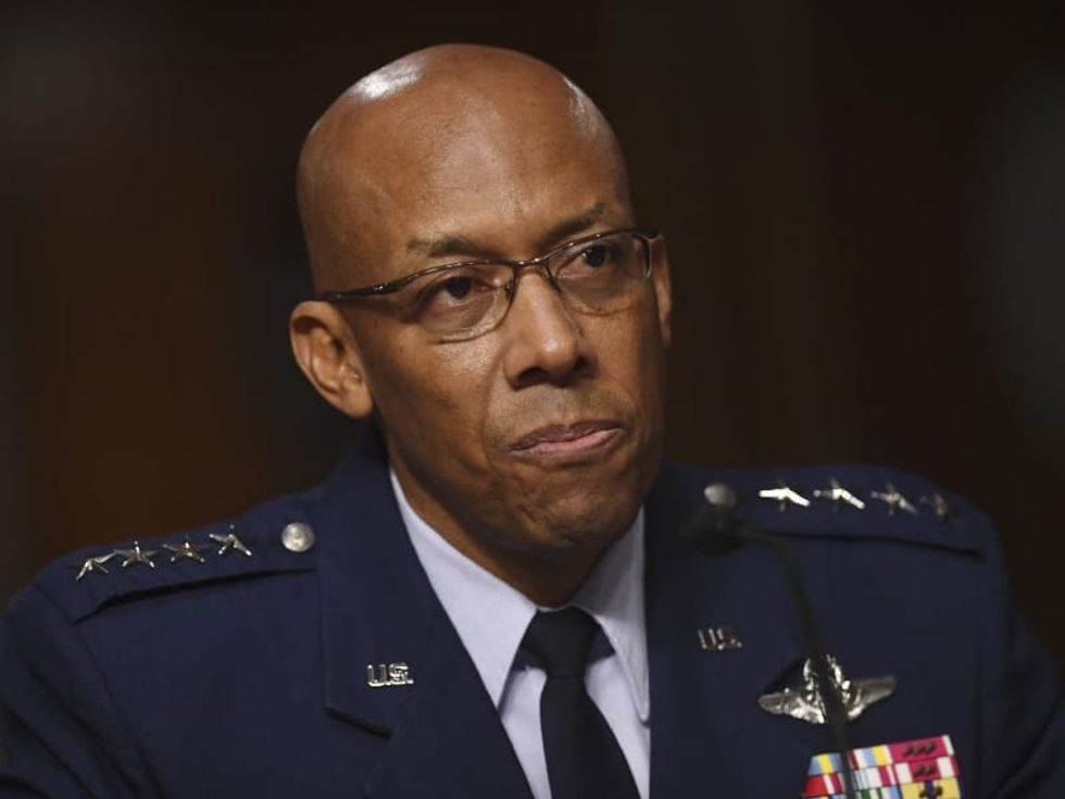 Senate confirms 1st African American head of US military service branch