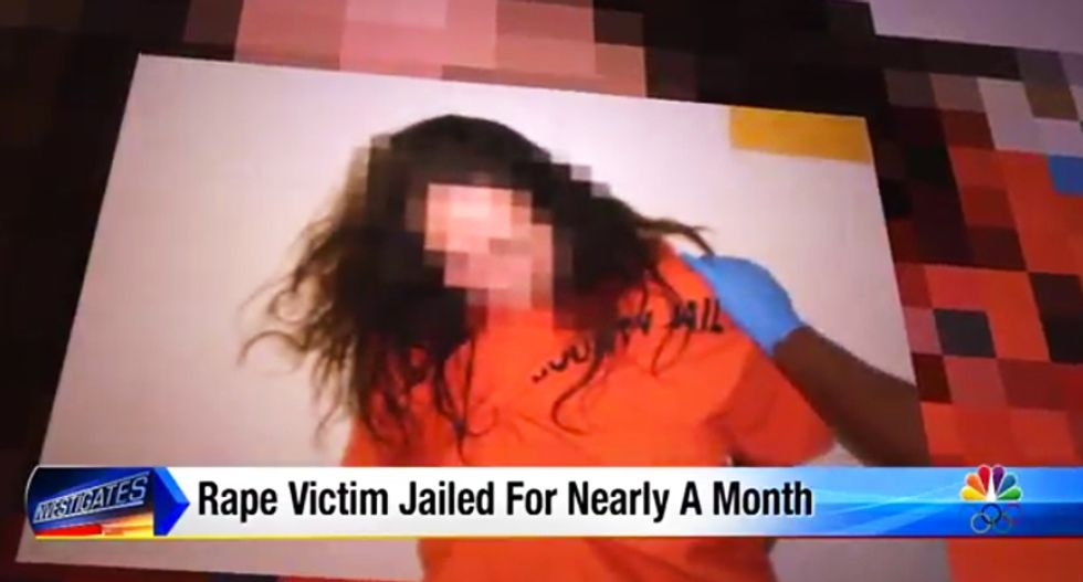 Rape victim sues after Texas court throws her in jail for a month over fears she wouldn't testify