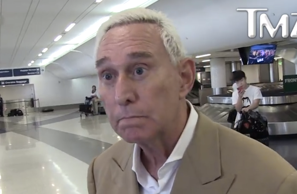 'Roger Stone brought this on himself': Former federal prosecutor rains on Trump's pity party for indicted ally