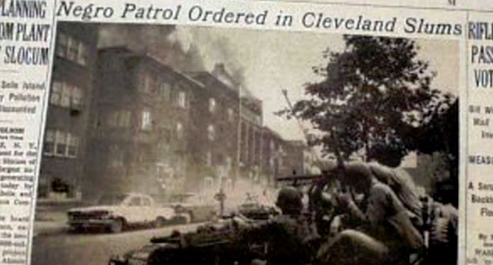 This forgotten 1968 gunfight between police and black men happened just 5.6 miles from the RNC