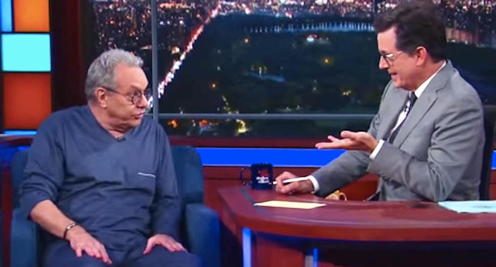 Lewis Black rants to Colbert about the RNC: 'I would rather be in a latrine'