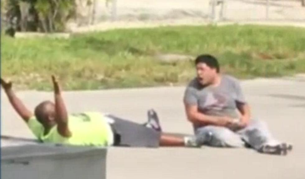 Florida police chief claims he is the victim in shooting of black caregiver after being fired for giving varying accounts