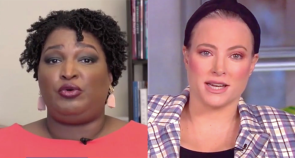 Stacey Abrams schools Meghan McCain on Georgia's election problems