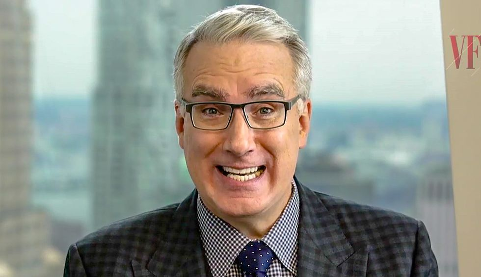 'Bye Felicia!': Olbermann bids Scaramucci farewell as he returns to the 'bilge water' he came from