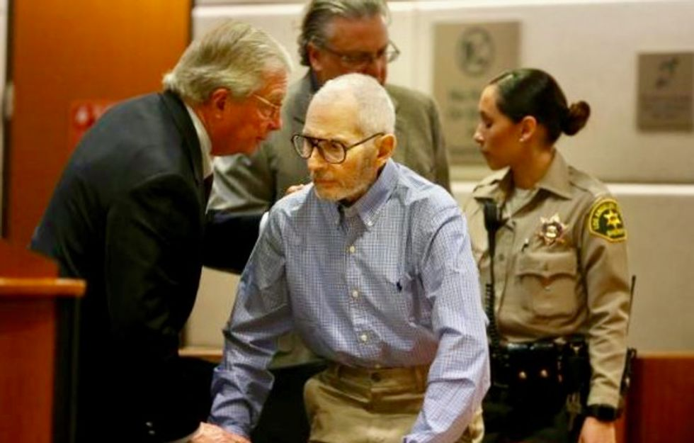 Prosecutors seek to use Robert Durst's movie comments at murder trial