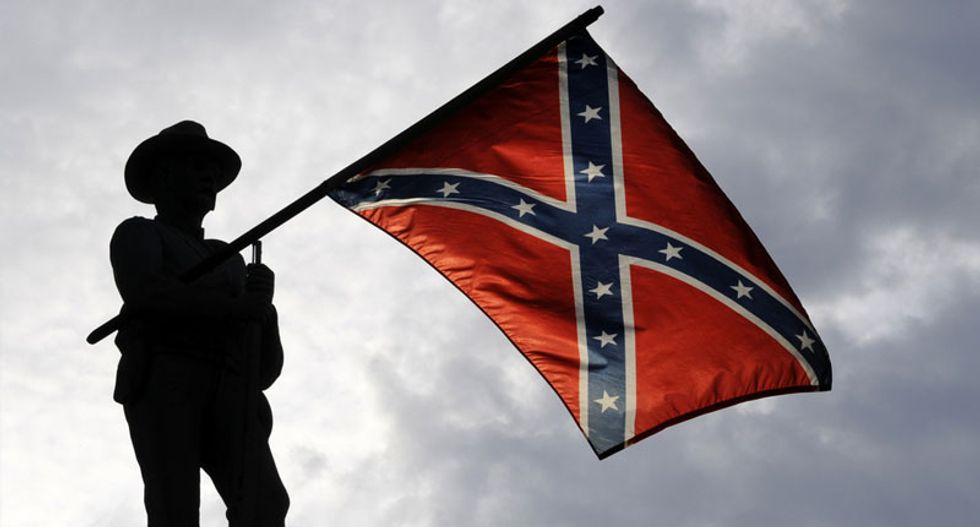 Texas rebels secede from reality with claim that American flag more racist than Confederate