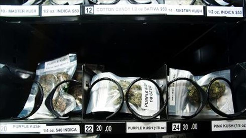 420-to-go: Medical marijuana vending machines pop up around Canada