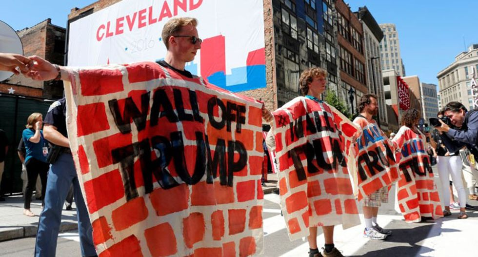 Protesters at Republican National Convention are 'extremely disappointed with turnout'