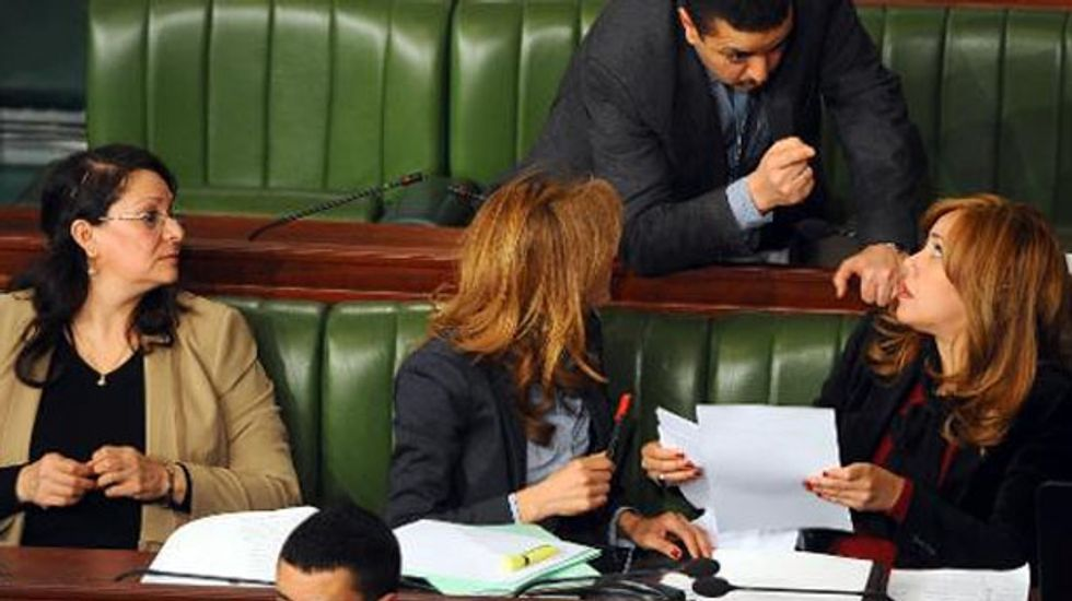 Tunisia's national assembly votes for gender equality in new charter