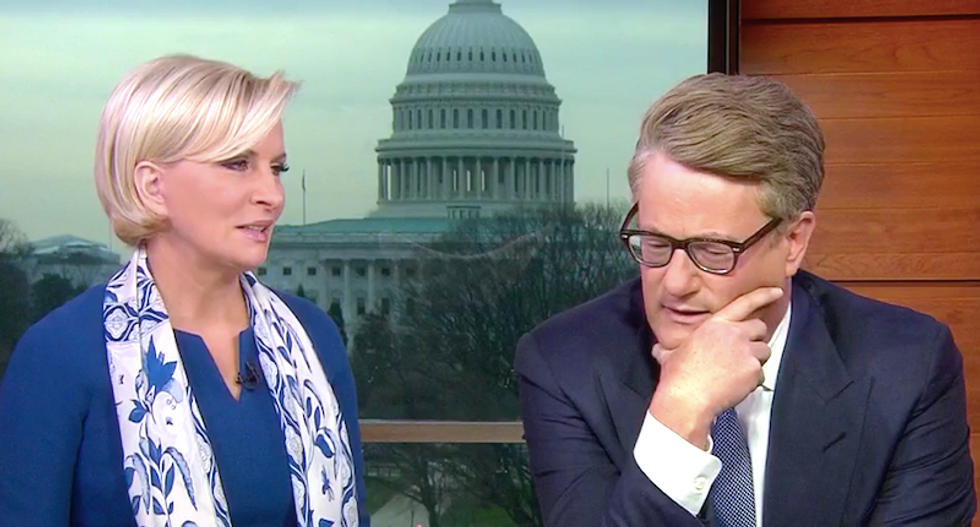 'He's dumb': MSNBC's Joe and Mika hilariously try to bait Trump into ignoring his lawyers and talking to Mueller