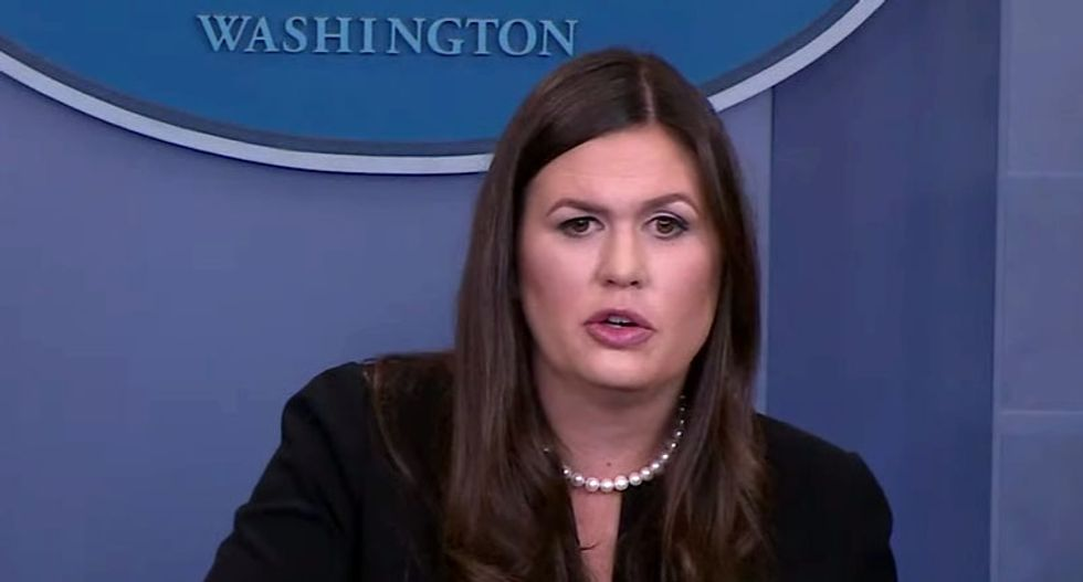 'All our leaders have flaws': Sarah Sanders defends Robert E. Lee's 'contributions' to America