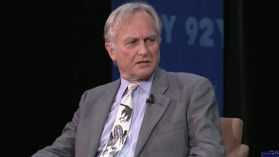 Richard Dawkins suggests that belief in God is nothing but narcissism writ across the universe