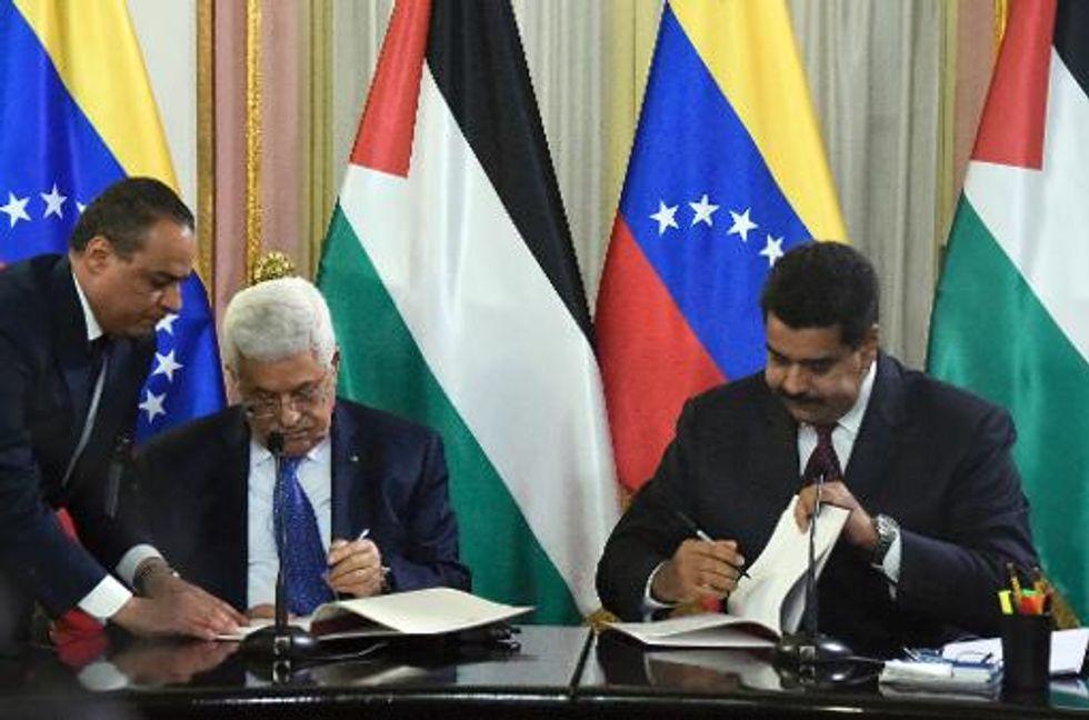 Venezuela to send oil to Palestinians