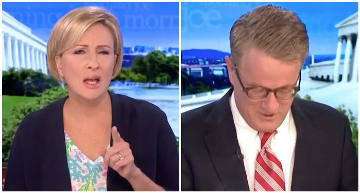 Morning Joe shreds GOP for 'creepy' fundraising message based around Trump's 'cult of personality'