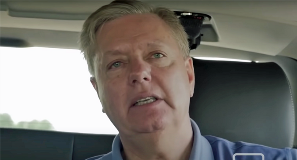 Lincoln Project likens Lindsey Graham to an abused dog for being 'violently out-fundraised' in South Carolina re-election campaign
