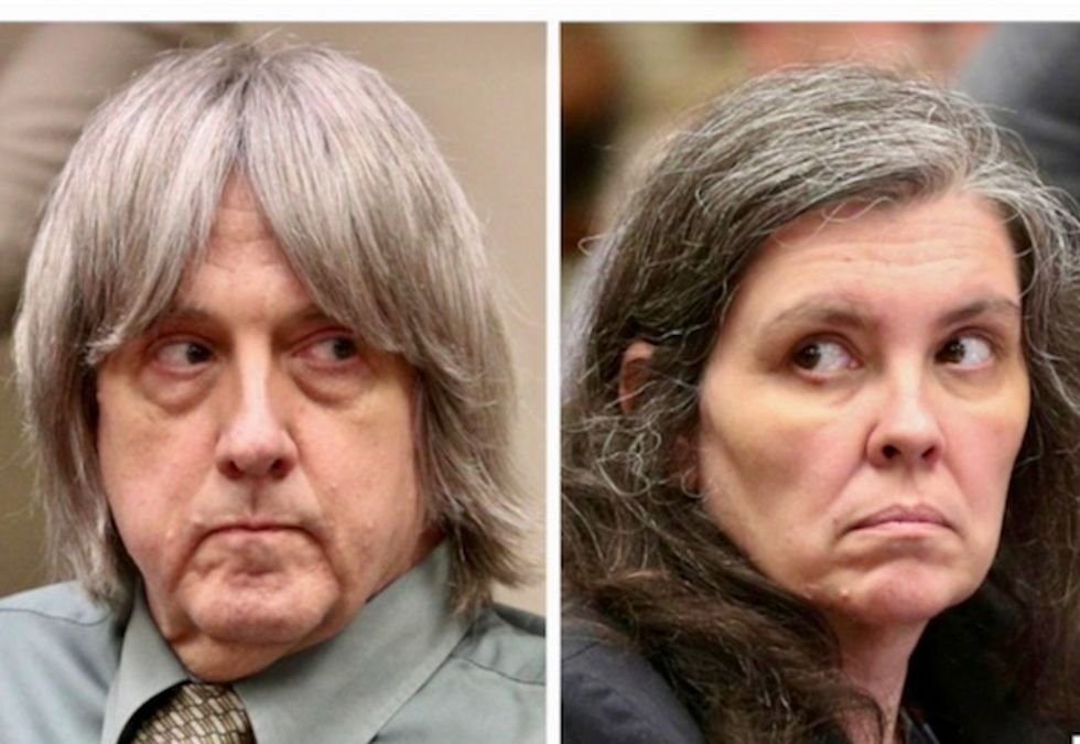 California couple plead guilty to torturing their 13 children