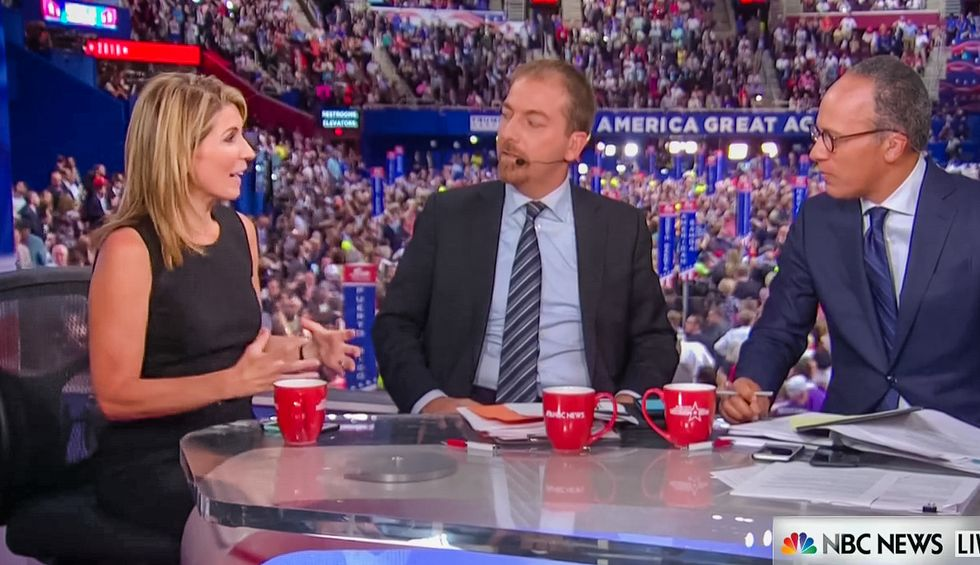 'The party died in this room tonight': Nicole Wallace grief-stricken as Trump's RNC speech ends
